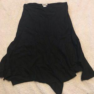 Guess skirt size sm shark bite hem
